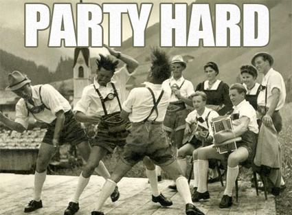 After Wiesn Party - Party hard